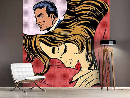 Photo Wallpaper Pop Art Lovely Dreams