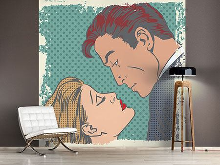 Photo Wallpaper Pop Art Dedication