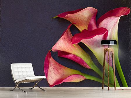 Photo Wallpaper Calla Bouquet