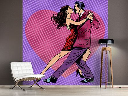 Photo Wallpaper Pop Art Lambada
