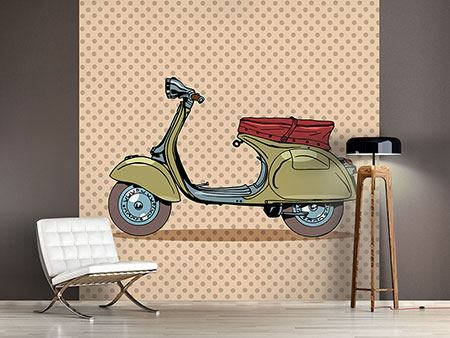 Papier peint photo Vespa