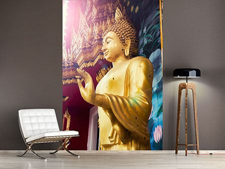 Photo Wallpaper Buddha Sculpture