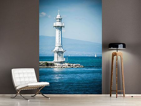 Photo Wallpaper Photowallpaper Geneva Lighthouse