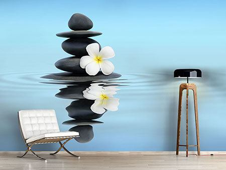 Photo Wallpaper Zen Stones