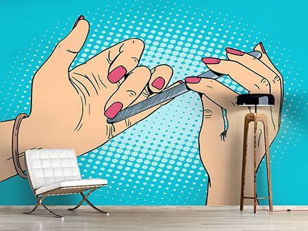 Fototapete Pop Art Nails