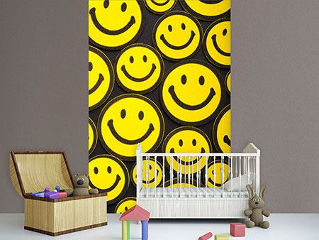 Papier peint photo Smileys