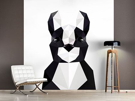 Photo Wallpaper Origami Bulldog