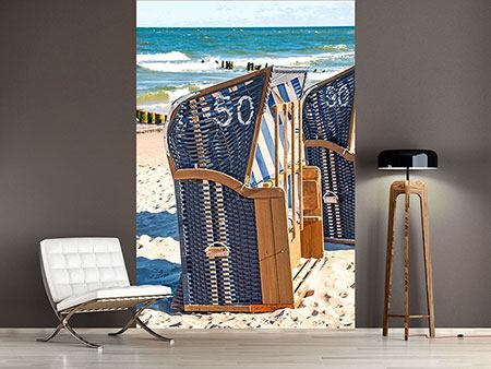 Photo Wallpaper Beach Chair