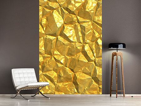 Photo Wallpaper Gold