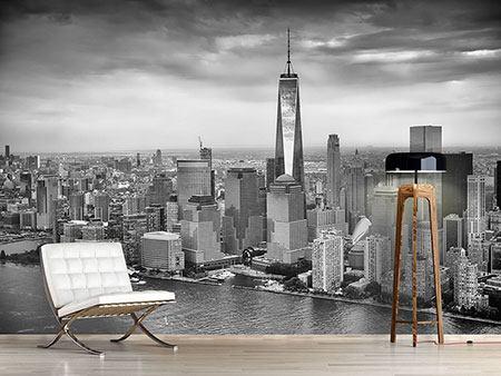 Fototapete skyline schwarz weiß  Fototapeten Skylines günstig online kaufen