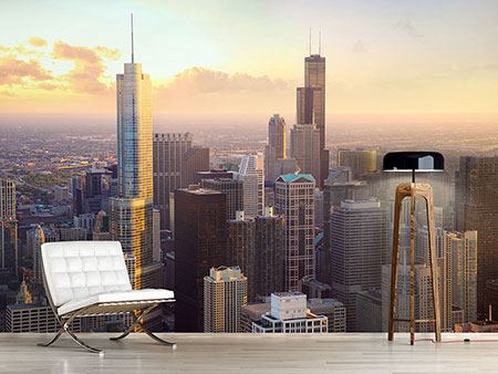 Photo Wallpaper Skyline Chicago
