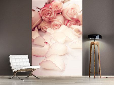 Photo Wallpaper Soft Rose Petals