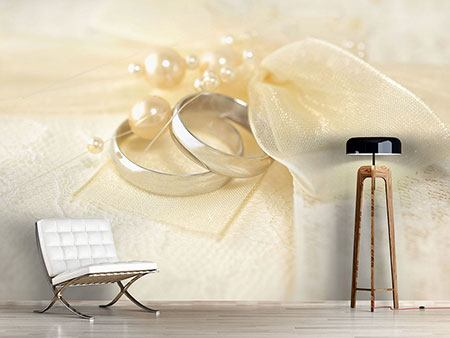 Photo Wallpaper Wedding Rings
