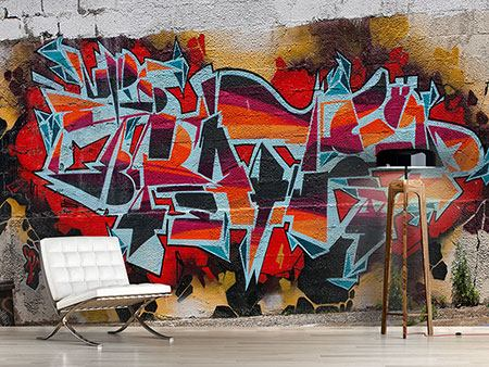 Photo Wallpaper New York Graffiti