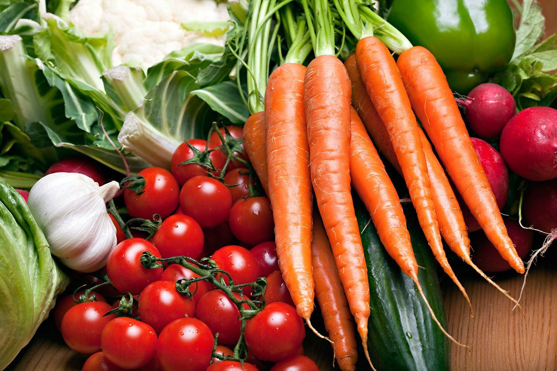 Fototapete Gemüse