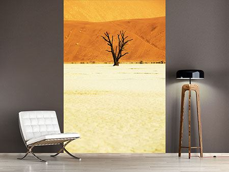 Photo Wallpaper The Desert Tree