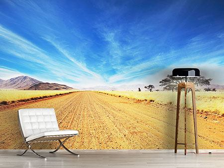 Photo Wallpaper A Landscape In Africa