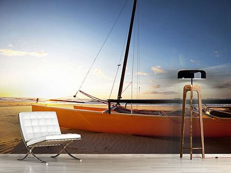 Photo Wallpaper Catamaran