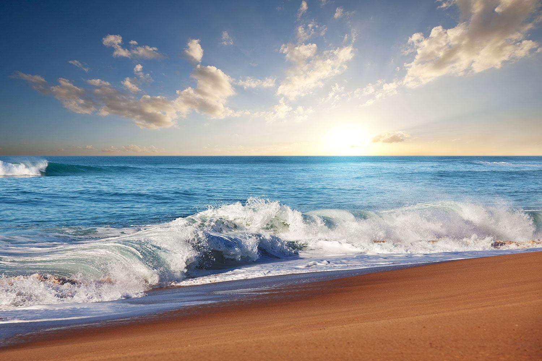 Fototapete Die Wellen des Meeres