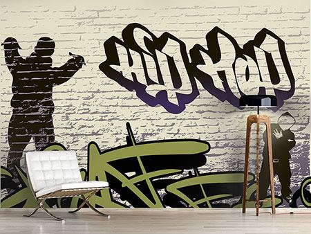 Fotomurale Graffiti hip hop