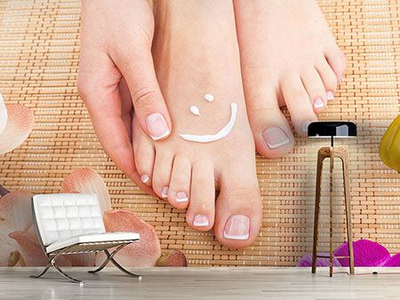Photo Wallpaper Beautiful Feet