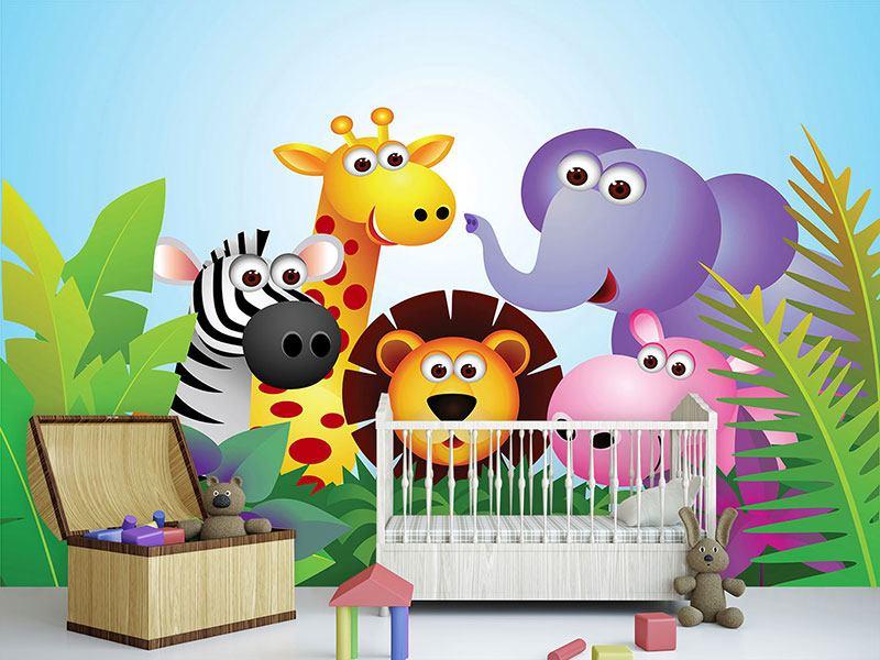 Fototapete kinderzimmer bauernhof  Fototapete Dschungel - Jetzt einfach online bestellen!