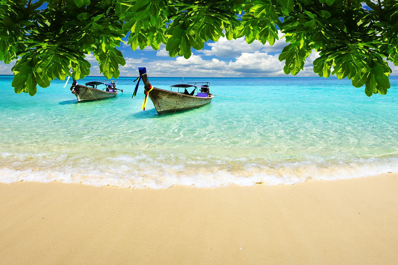 Fototapete Ein Blick auf das Meer