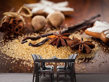 Photo Wallpaper Christmas Spices