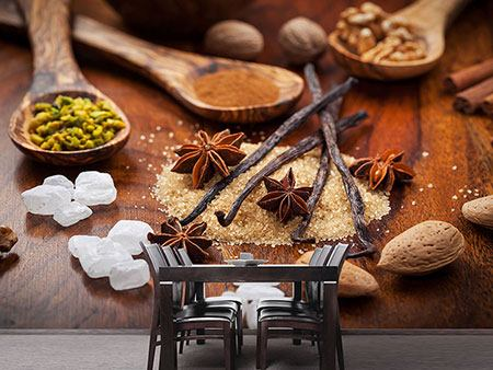 Photo Wallpaper Christmassy Spices