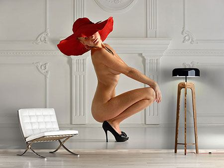 Photo Wallpaper Nude Diva