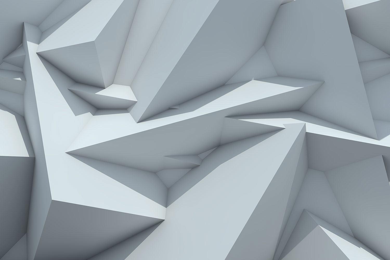 Fototapete 3D-Kristallo