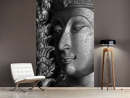 Photo Wallpaper Buddha Close Up