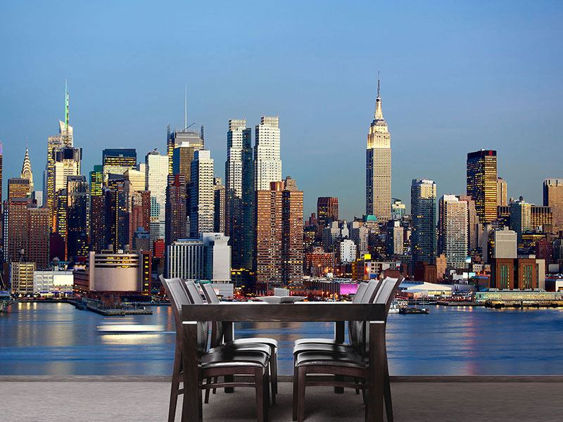 Fotomurale Skyline di Midtown Manhattan