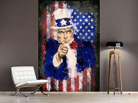 Photo Wallpaper Uncle Sam