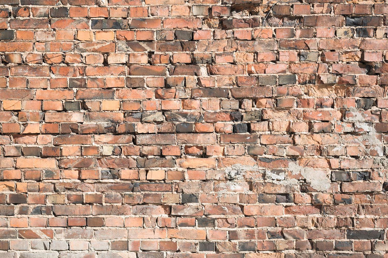 Fototapete Alte Backsteinmauer