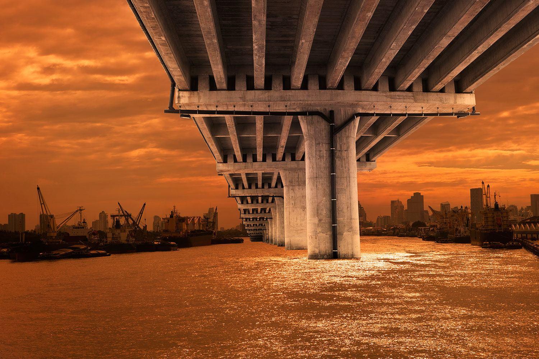 Brücke Französisch