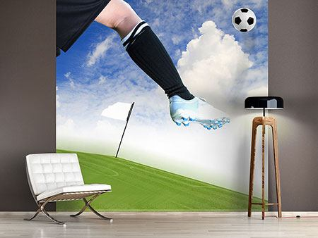 Photo Wallpaper Football Kicker
