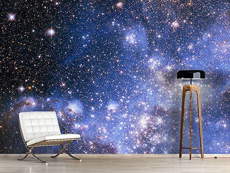 Galaxie Fototapeten Wohnzimmer