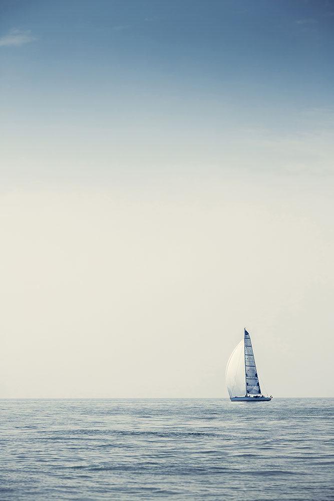 Fototapete Segelboot