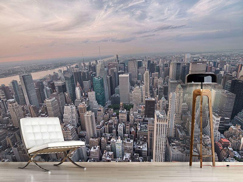 Fototapete skyline  Fototapete Skyline Blick über Manhattan - Jetzt bestellen!