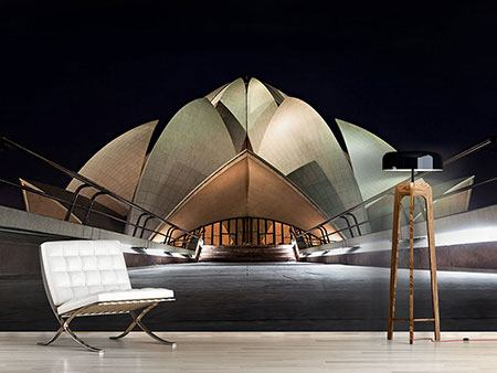 Photo Wallpaper The Lotus Temple