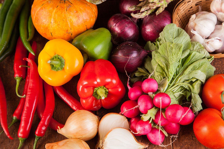 Fototapete Gemüsefrische