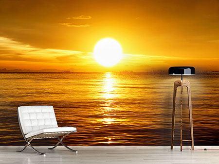 Fototapete Traumhafter Sonnenuntergang medium - Tapete Sonnenuntergang