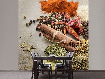 Photo Wallpaper Spices Of The South