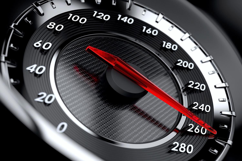 Fototapete Geschwindigkeit