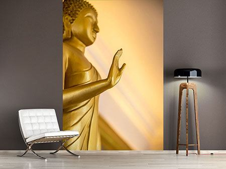 Photo Wallpaper Buddha Statue