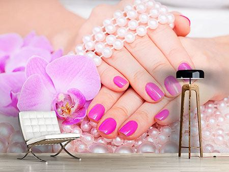 Photo Wallpaper Manicured Hands