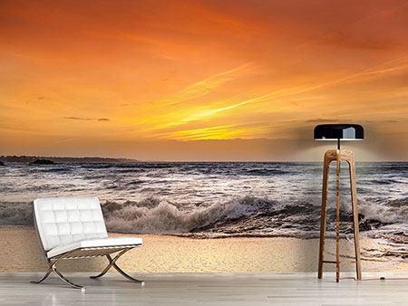 Fototapeten Sonnenuntergang und Sonnenaufgang
