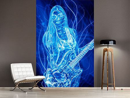 Photo Wallpaper Vibrant Guitarist