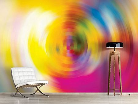 Photo Wallpaper Abstract Color Circles